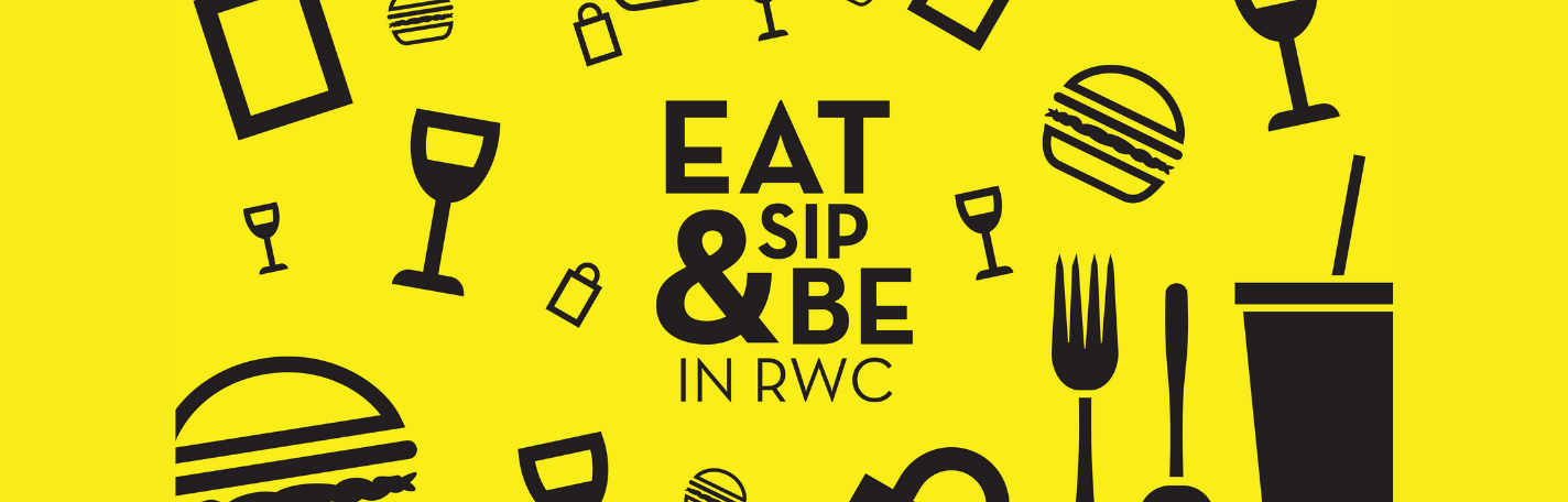 ABOUT EAT, SIP & BE IN RWC