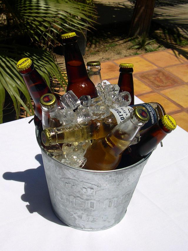 Beer garden bonaza